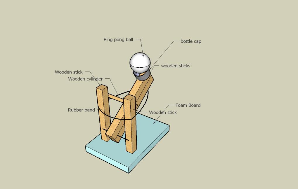 Ping Pong Launcher D
