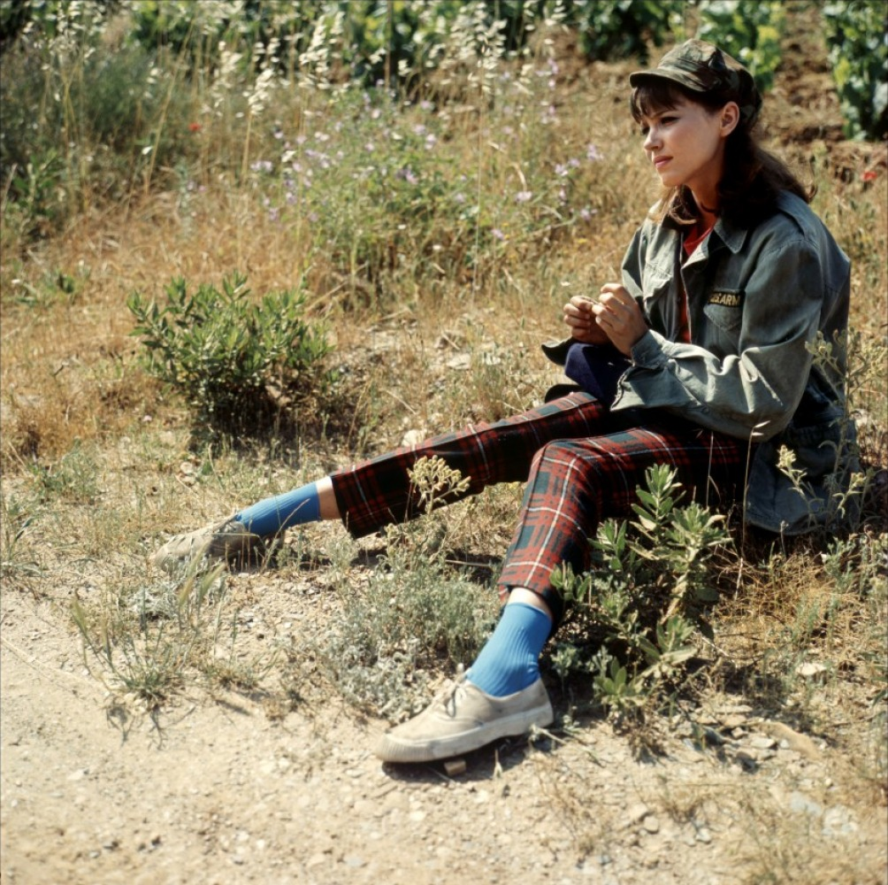 """Contrast: Reel to Real #12: Anna Karina in """"Pierrot Le Fou"""""""