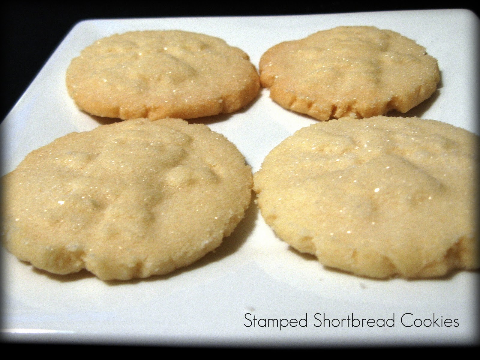 Holiday Baking - Stamped Shortbread Cookies - A Jennuine Life