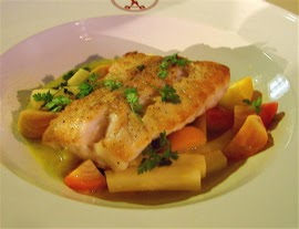 Food Wishes Video Recipes: Sea Bass with Braised Celery ...