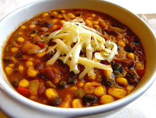 ... Recipes: Spicy Three-Bean Chili - Meatless and Possibly Vegetarian
