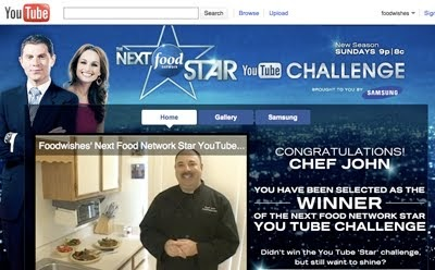 The Next Food Network Star food wishes video recipes: we did it! foodwishes wins the next