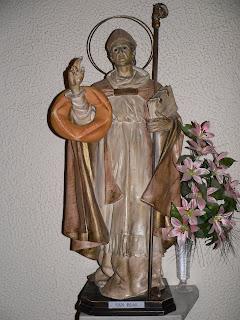Hoy Función en honor a San Blas