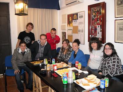 El Grupo joven de la Caridad se reúne