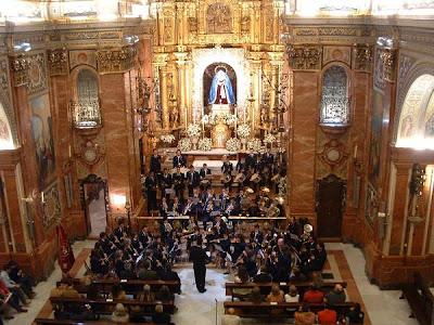 La banda de Sorbas ofrecerá el sábado un concierto en la basílica de la Macarena