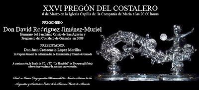 Mañana David Rodríguez Jiménez-Muriel pronunciará el Pregón del costalero