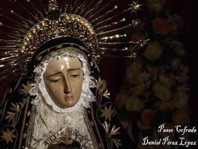 """El Besamano de la Soledad en """"Paseo cofrade"""""""