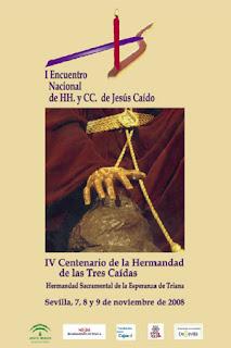Los hermanos de Pasión asisten al I Encuentro nacional de hermandades de Jesús Caído