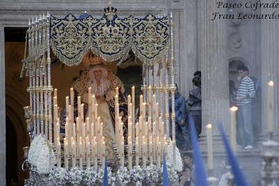 Los usuarios de 'Rinconcito cofrade almeriense' votan la Virgen con más de voción