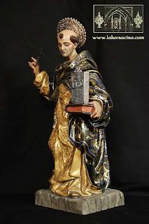 Presentada una imagen de Santo Tomás de Aquino de Fernando Murciano para los Estudiantes