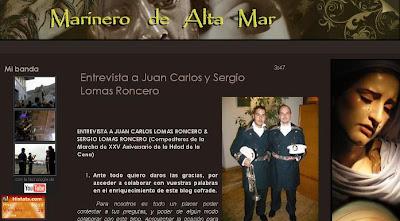 Los hermanos Lomas Roncero en 'Marinero de alta mar'