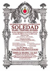 El sábado comienza el Septenario de la Soledad