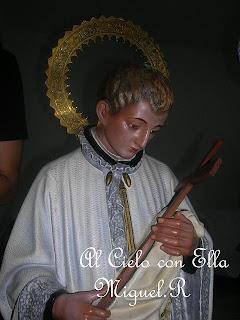 Ayer comenzó el Triduo en honor a San Luis