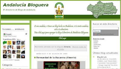 Destacada presencia cofrade almeriense en 'Andalucía bloguera'