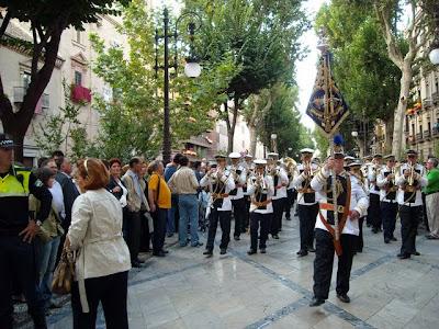 La Agrupación musical 'La Salud' de Granada irá abriendo en la procesión de la Virgen del Mar