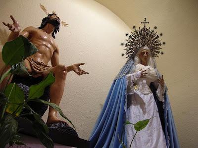La Virgen de la Estrella con diadema