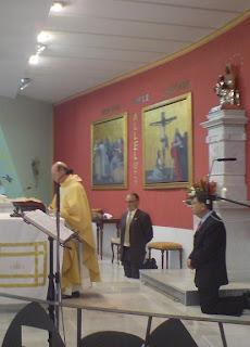 Esta noche 'oración cofrade' en Montserrat