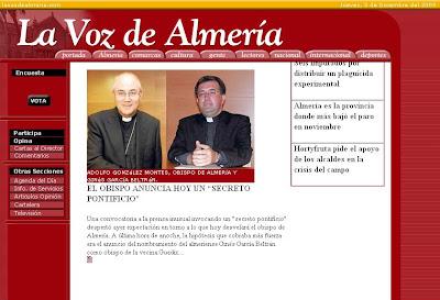 La prensa escrita desvela el 'secreto': Ginés García Beltrán nuevo obispo de Guadix-Baza