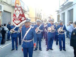 La banda del Cautivo de Málaga acompañará al misterio de la Cena hasta 2013