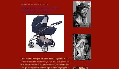 La Coronación demanda urgentemente carritos de bebé