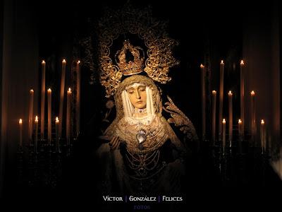 Esta tarde besamanos de la Virgen de los Dolores