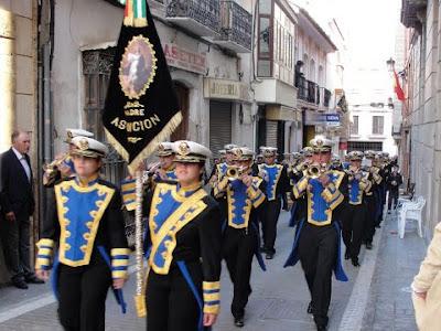La banda de cornetas y tambores 'Madre Asunción' acompañará al Cristo del Camino