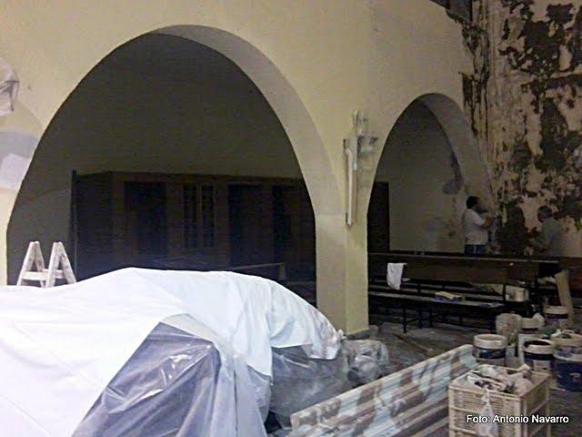 Mañana se bendice la nueva capilla del Señor de la Sentencia y la Esperanza Macarena