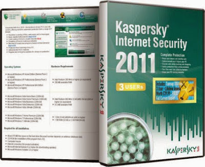Kaspersky Internet Security 2011 + Liçensa de 10 anos !