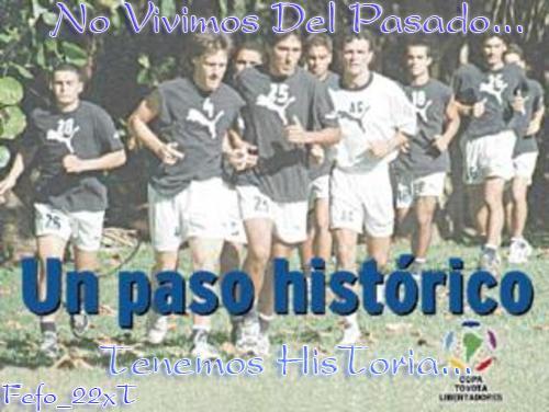 Libertadores 2002 (unico del interior en jugarla)