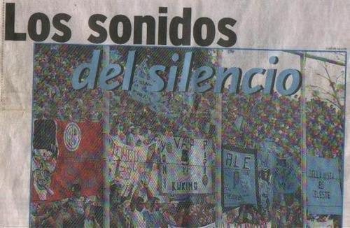 LOS SONIDOS DEL SILENCIO.