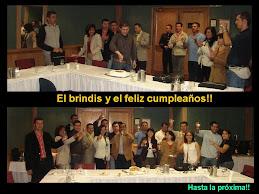 En el cumpleaños de uno de los participantes
