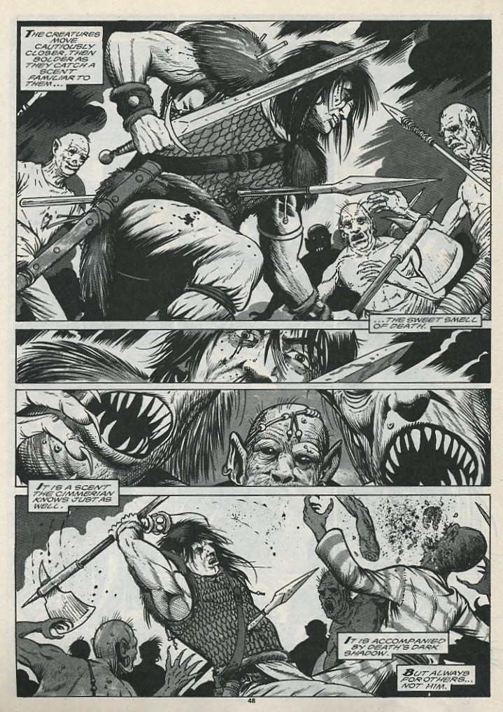 The Savage Sword Of Conan Issue #176 #177 - English 50