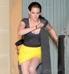 Kristin Stewart tem o seu primeiro upskirt