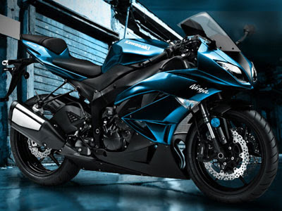 2009 Kawasaki Ninja ZX-6R Monster