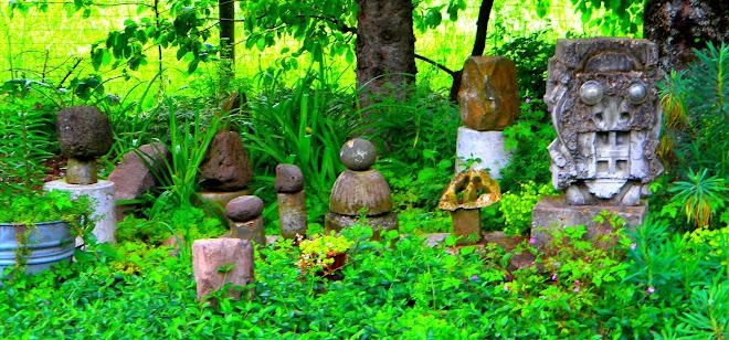 Rock Garden/ Concrete Robot