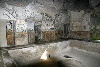 Римска баня подово отопление басейн