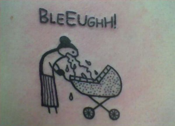 Hahahaha Thatd Be Ironic If This Tattoo Is On A Females Stomach