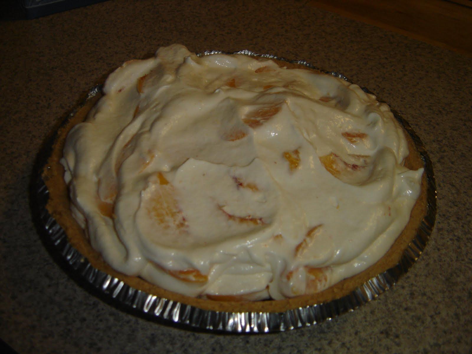 Elizabeth's Cooking Experiments: Peach Pie