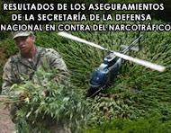 COMBATE MILITAR AL NARCOTRÁFICO