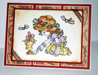 Sugar Nellie, Sweet Ebony, Elisabeth Bell, Birthday Card, Magnolia