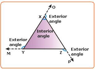 Interior And Exterior Angles Of A Triangle Jp7numeracy