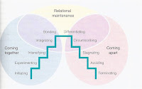 knapps stage model Knapp's relationship model explains how relationships grow and last and also how they end this model is categorized into ten different stages which come under two interrelating stages are knapp's relationship escalation model and knapp's relationship termination model this helps to understand how a relationship progresses and deteriorates.