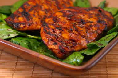 ... another great recipe. This one is for Balsamic-Marinated Chicken