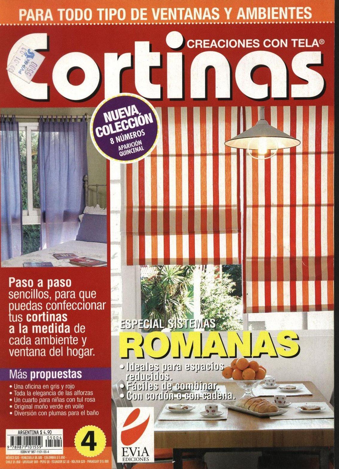 Cortinas De Baño Utilisima:Manualidades: CREACIONES CON TELA