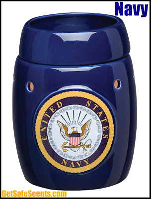 Scentsy Navy full-size Warmer. Instock in Knoxville Oak Ridge Tennessee TN