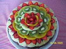Chocolate con frutas