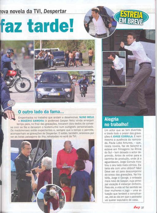 """Artigo da Revista """" TV7 Dias"""""""