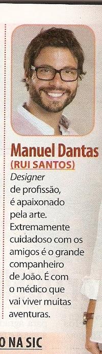 """Personagem de Rui Santos na novela """" Laços de Sangue"""""""
