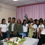 LUNES 14 DE JULIO 2008 / PRESENTACION DE INFORME SERVICIO COMUNITARIO UNESR