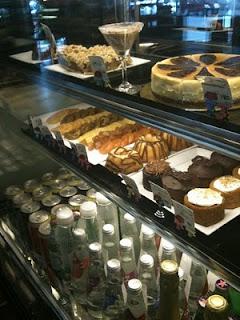 cakes, truffles, parfaits
